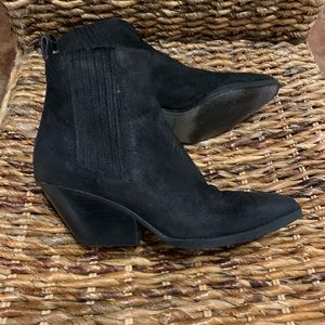 Michael Michael Kors Sinclair black booties